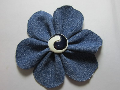 20.  Creative DIY Fabric Flower ✔️