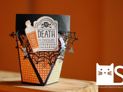 2015 Freaky Fridays - Sweet Hauntings Self-Closing Treat Box - Stampin' Up!