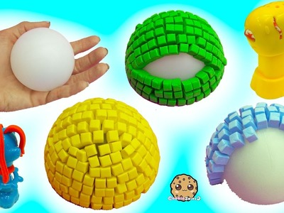 3D Mosaic Foam Animal Maker & Playdoh Growing Animals - Dollar Tree Store Crafts