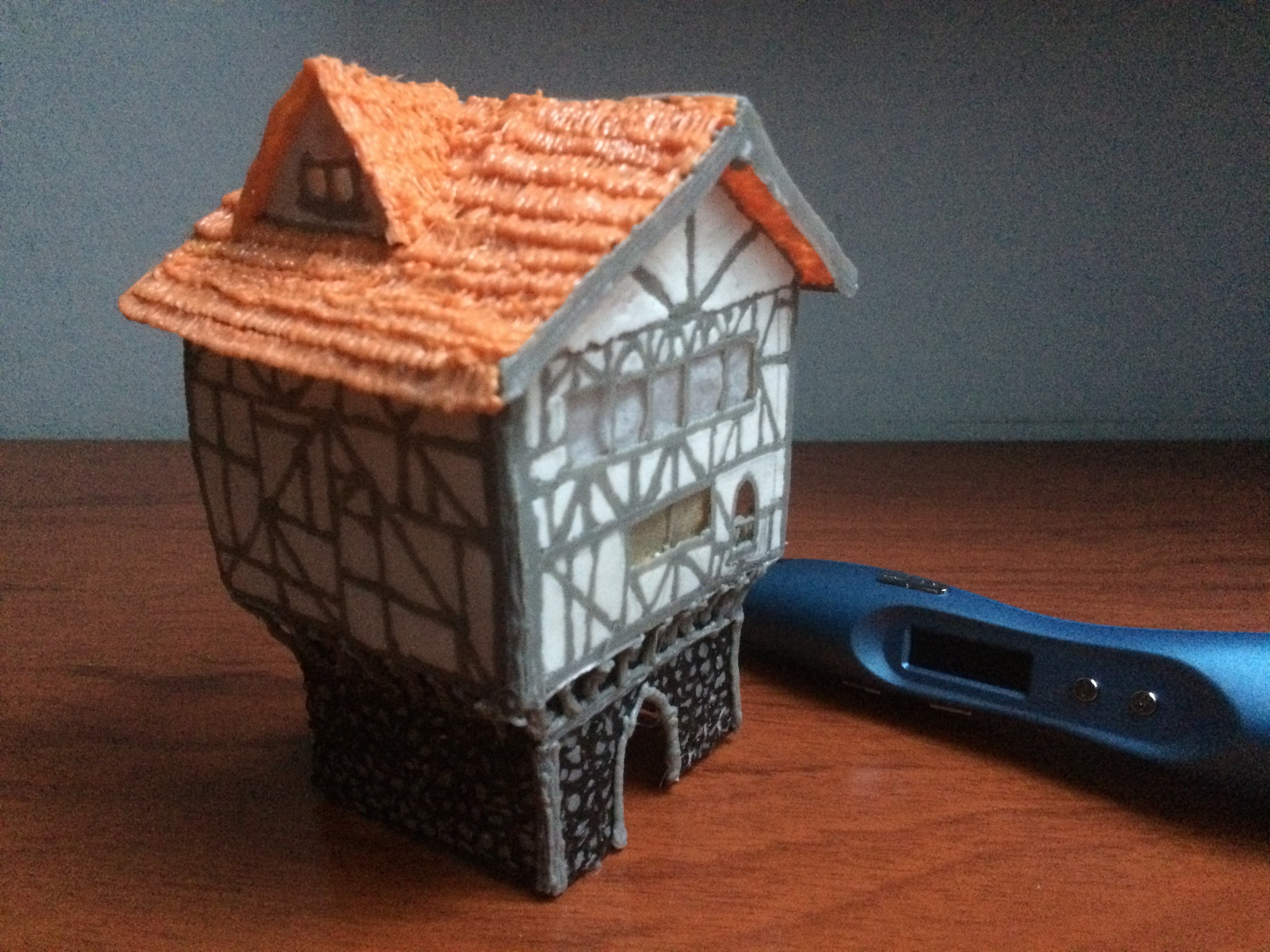 3D PEN Creations | Making Medieval Buildings | Game Of Thrones | How to make a house | Tutorial