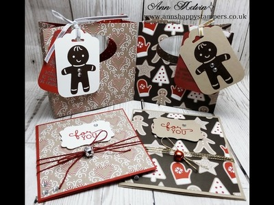 #5 Seasonal Sunday Cute Christmas Gift Bag & Matching Gift Card Holder