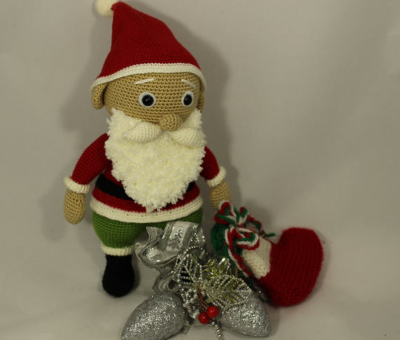 Amigurumi Santa Patterns : Amigurumi Santa Claus Crochet PDF Pattern - iremdesign ...