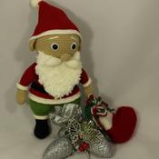 Amigurumi Santa Claus Crochet PDF Pattern