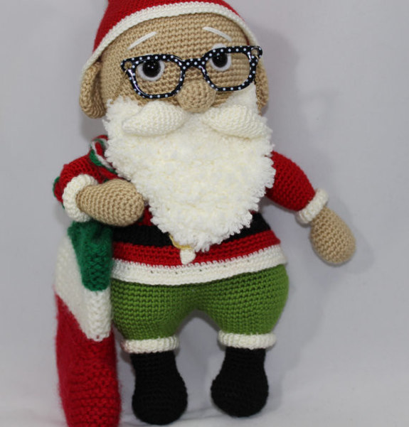 Amigurumi Santa Claus Crochet PDF Pattern - iremdesign ...