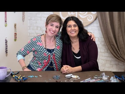 Artbeads Cafe - Memory Wire Bracelets with Cynthia Kimura and Candie Cooper