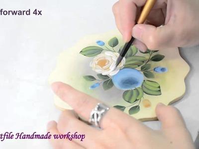 Artfile Tole Painting Tutorial - Simple Roses