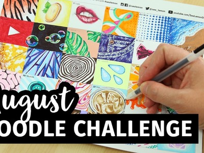 August Doodle Challenge | Sea Lemon