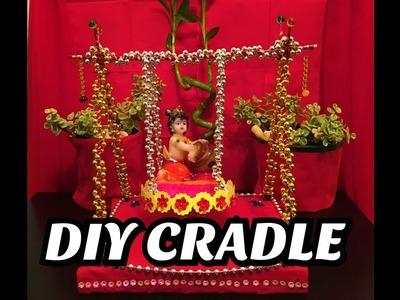 Cradle making for Lord Krishna HC#1