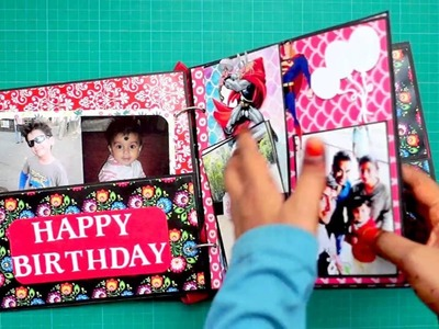 Cute Scrapbook for Little Brother | The Sucrafts