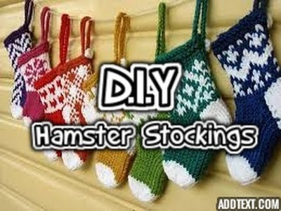 D.I.Y Hamster Stockings
