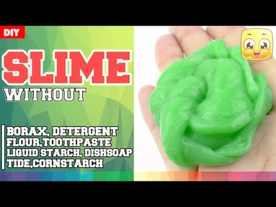 DIY Slime with EYE DROPS | Without Borax or Liquid Starch, Laundry Detergent, Toothpaste, Shampoo