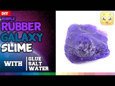 DIY Slime With Glue and Water and Salt Only   How To Make Slime Without Borax or Epsom Salt