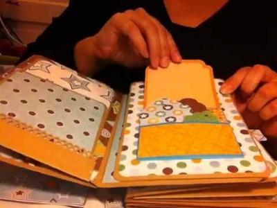 Envelope mini album - Baby Boy Theme