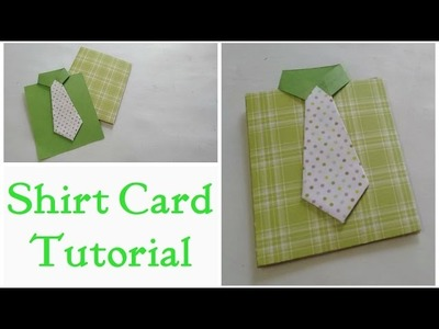 Father's Day Card.Shirt Card Tutorial By Srushti Patil