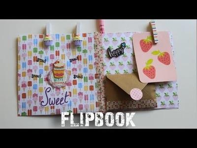 Flipbook.Pen pal book snail mail tutorial