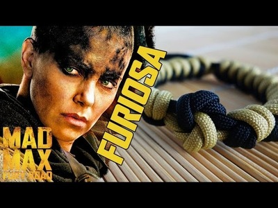 Furiosa's Weave Mad Max Style Paracord Bracelet Tutorial