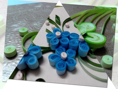 Hand Made Greeting Cards By Quilling Strips