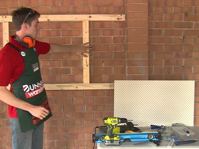 How To Build A Peg Board - DIY At Bunnings