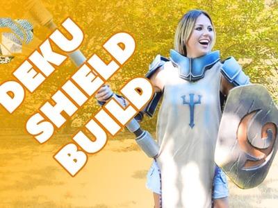 How to Build the Deku Shield Prop from Foam - Prop: Shop
