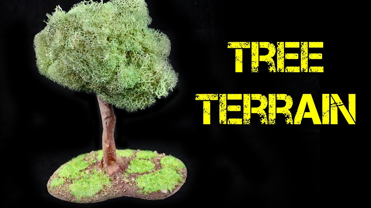 How to Create a Tree for Terrain