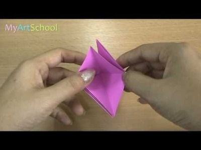 How To Fold A Bat Easily ( Origami )