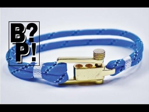 How to make a Nautical Sailing Paracord Bracelet - BoredParacord.com