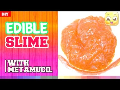 How To Make Edible Slime With Metamucil | DIY Edible Slime By JellyRainbow