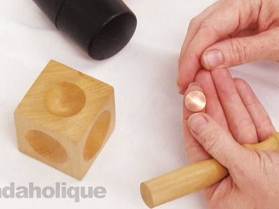 How to Use the Square Wooden Dapping Block