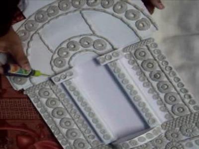 Jharokha Mural Work   A Rajasthani Window Design Art, Part-1