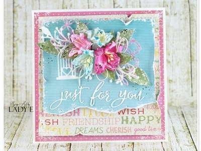 Just for you - Layered Card Tutorial - Penny Black