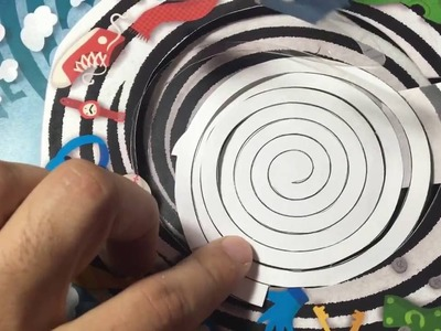 Make your own Pop-Up Book 6: Mini-tutorial Coils