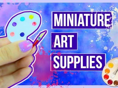 Miniature Dollhouse Paint Palette ~ Mini Art Supplies ♥