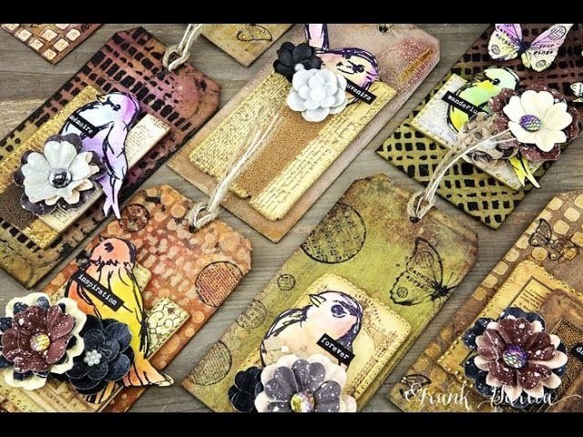 Mixed Media Tags with Frank Garcia on Live with Prima