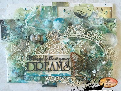 My dream Canvas for Mixed Media PLace