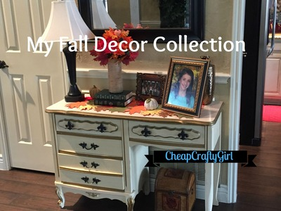 My Fall Decor Collection - Chit Chat