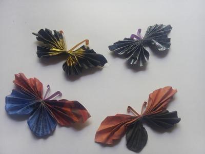 Newspaper Butterfly Tutorial