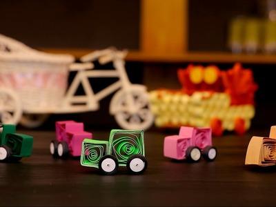 Paper Quilling Craft Tutorial 9 For Kids  @ ekunji.com