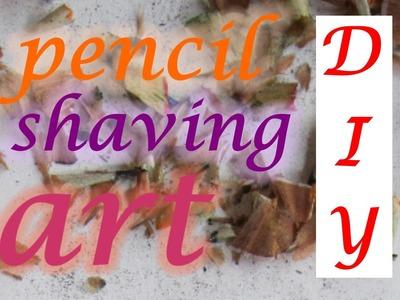 Pencil Shaving Art Tutorial ✔️