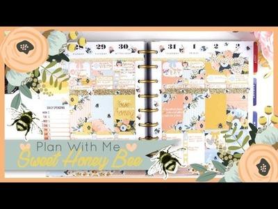 Plan With Me  ❤  SWEET HONEY BEE  ❤ MARCH week 5