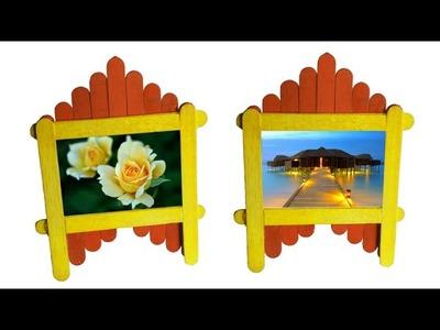 Pop Stick Photo Frame : Tcraft