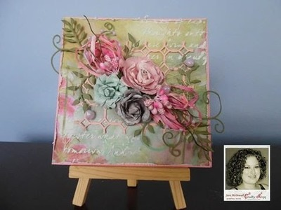 """Prima Firefly Start to Finish Card for """"Crafty Ann"""""""