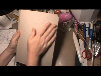 Quick Tip - Altering Composition book covers
