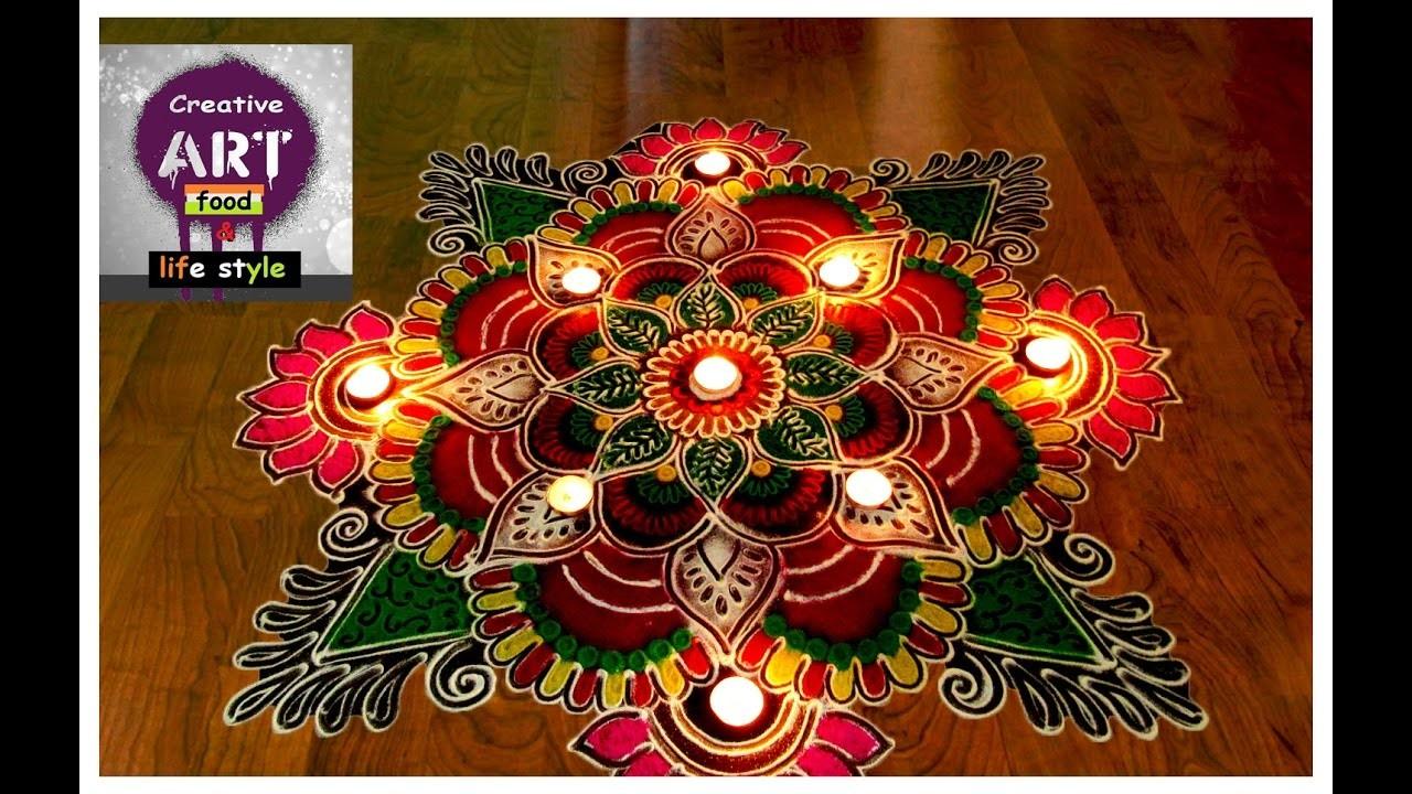 Rangoli for diwali | diwali special | Art with Creativity