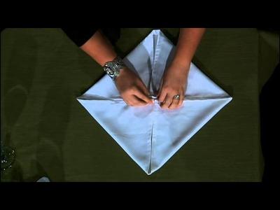 Rose Fold - Table Napkin Fold