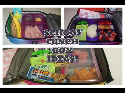 School Lunch Box Ideas For Kids! | #1