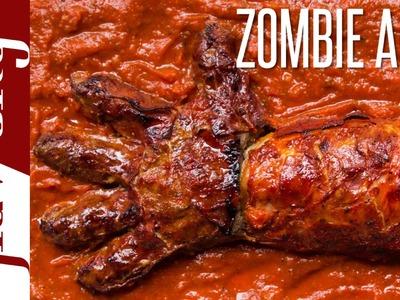 The Zombie Arm - Halloween Food Ideas