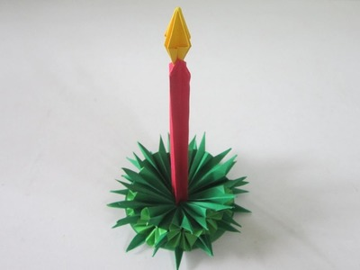 TUTORIAL - Christmas Decoration (Candle Stick)