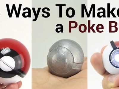 3 Ways to Make a Pokeball