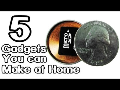5 Homemade Gadgets That You Can Make it!