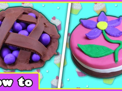 Amazing Play Doh Creations | Top 6 Play Doh Cakes and Cupcakes Ideas by HooplaKidz How To